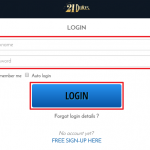 21 Dukes Casino login 2