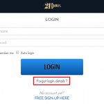 21 Dukes Casino login 3