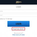 21 Dukes Casino login 3