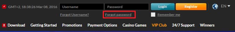 21 Nova Casino login 2