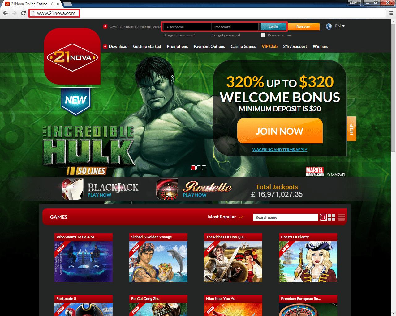 21 nova casino - 3
