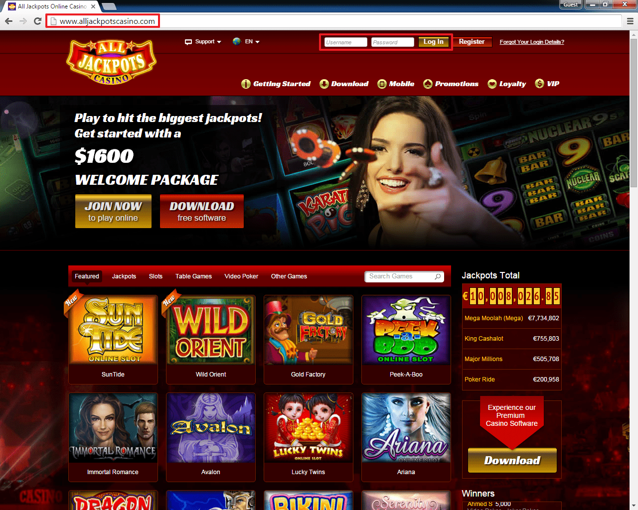 Top Online Casinos Accepting Players from the USA