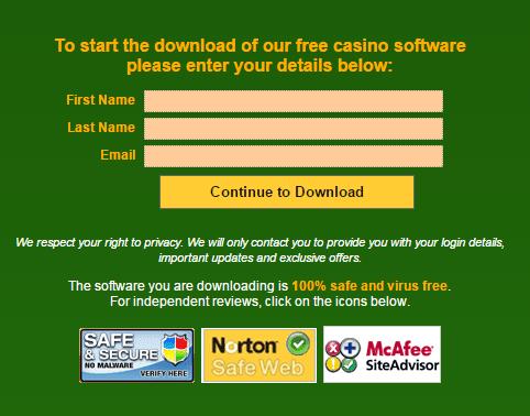 Casino Classic login 2