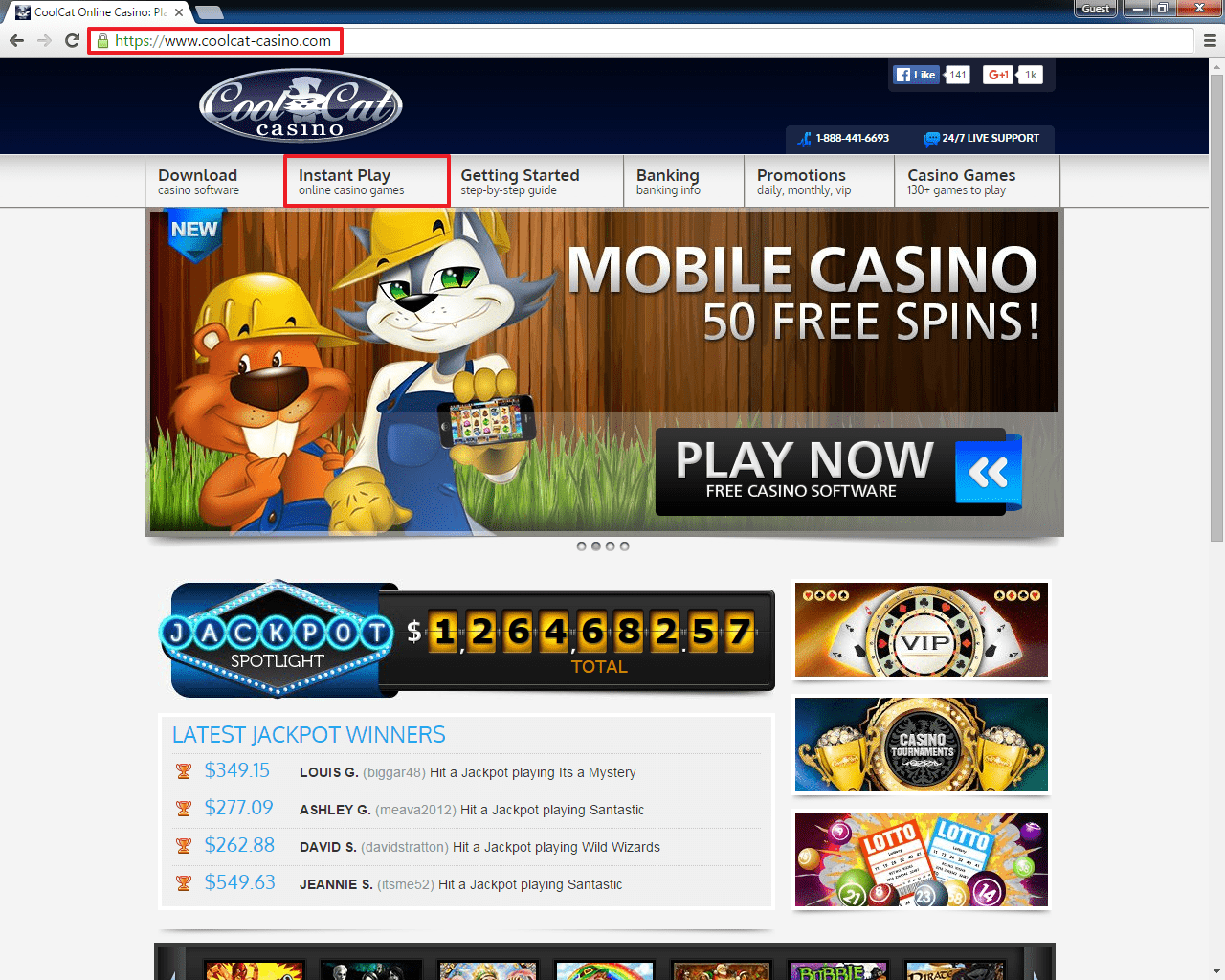 Coolcat Casino Login