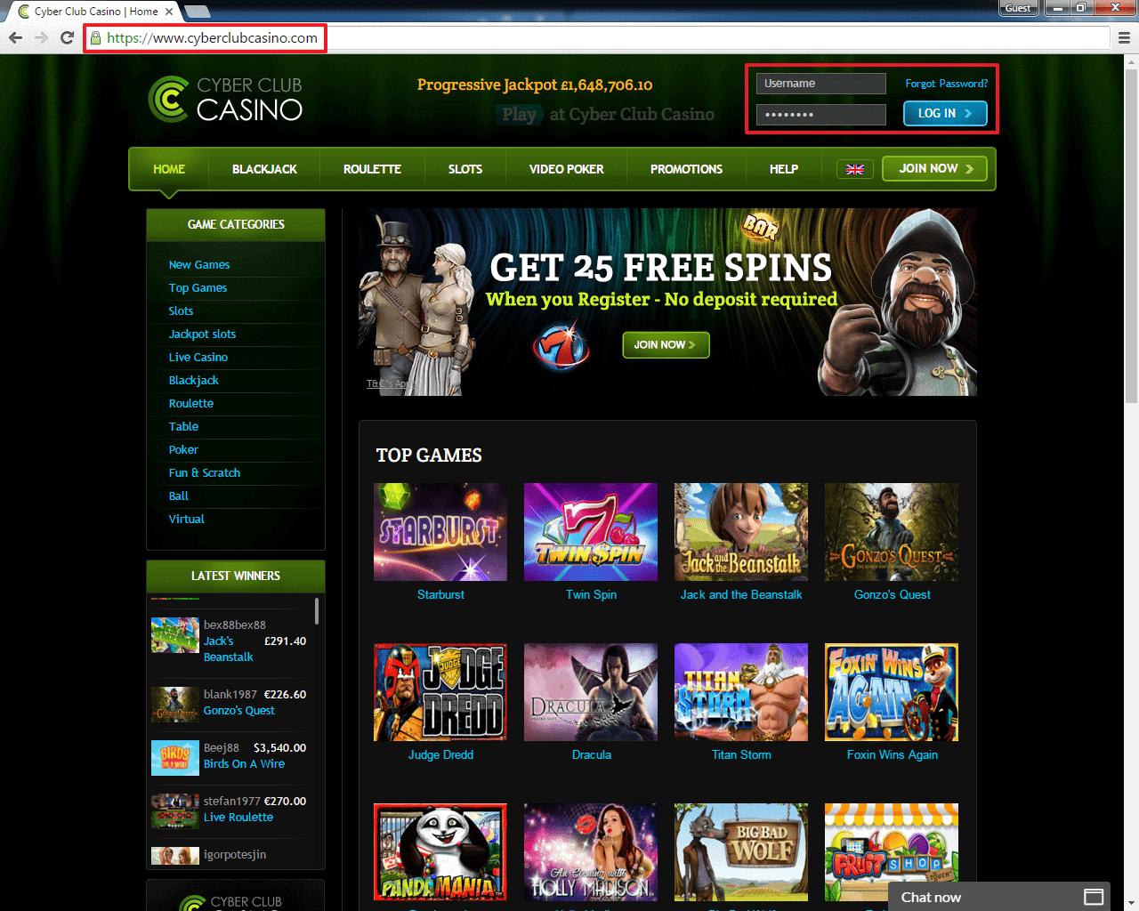 Club Web Login