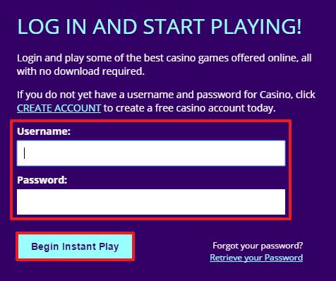Dreams Casino login 3