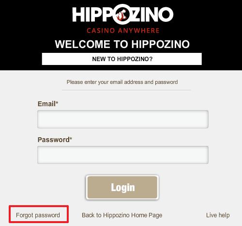 Hippozino login 4