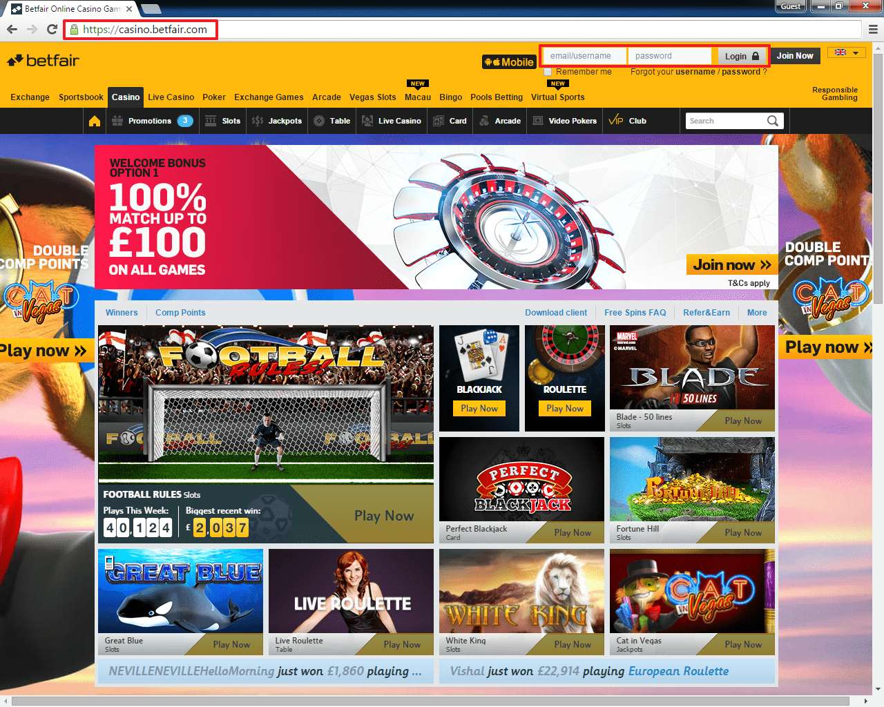 online casino click and buy game twist login