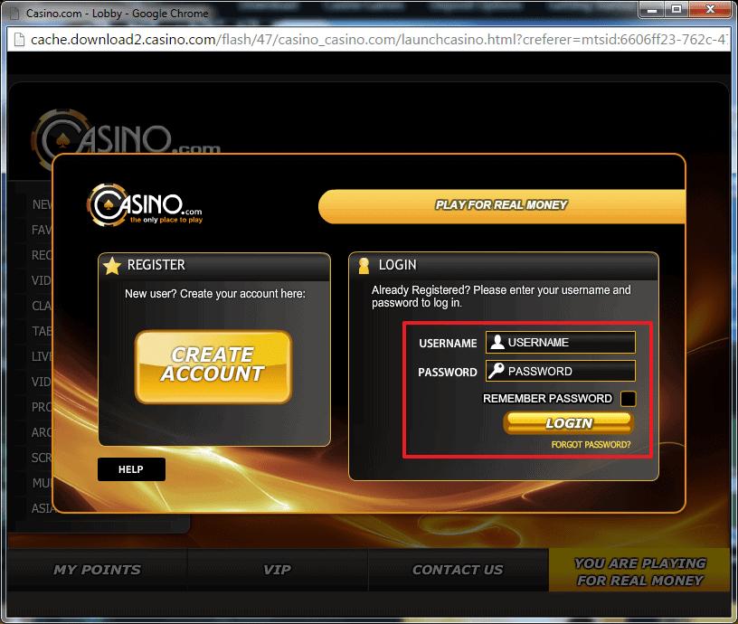 Super Casino Login