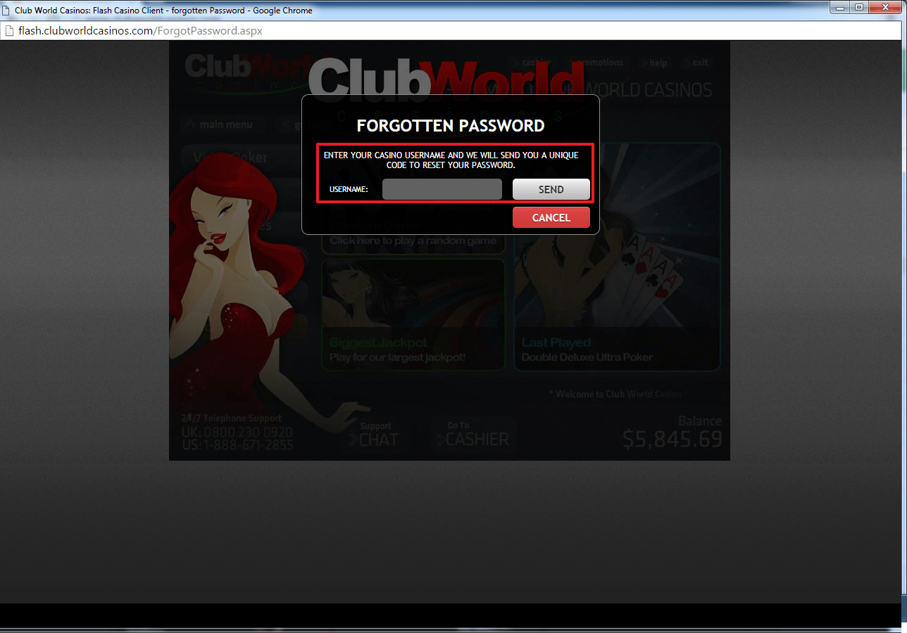 club world casino log in