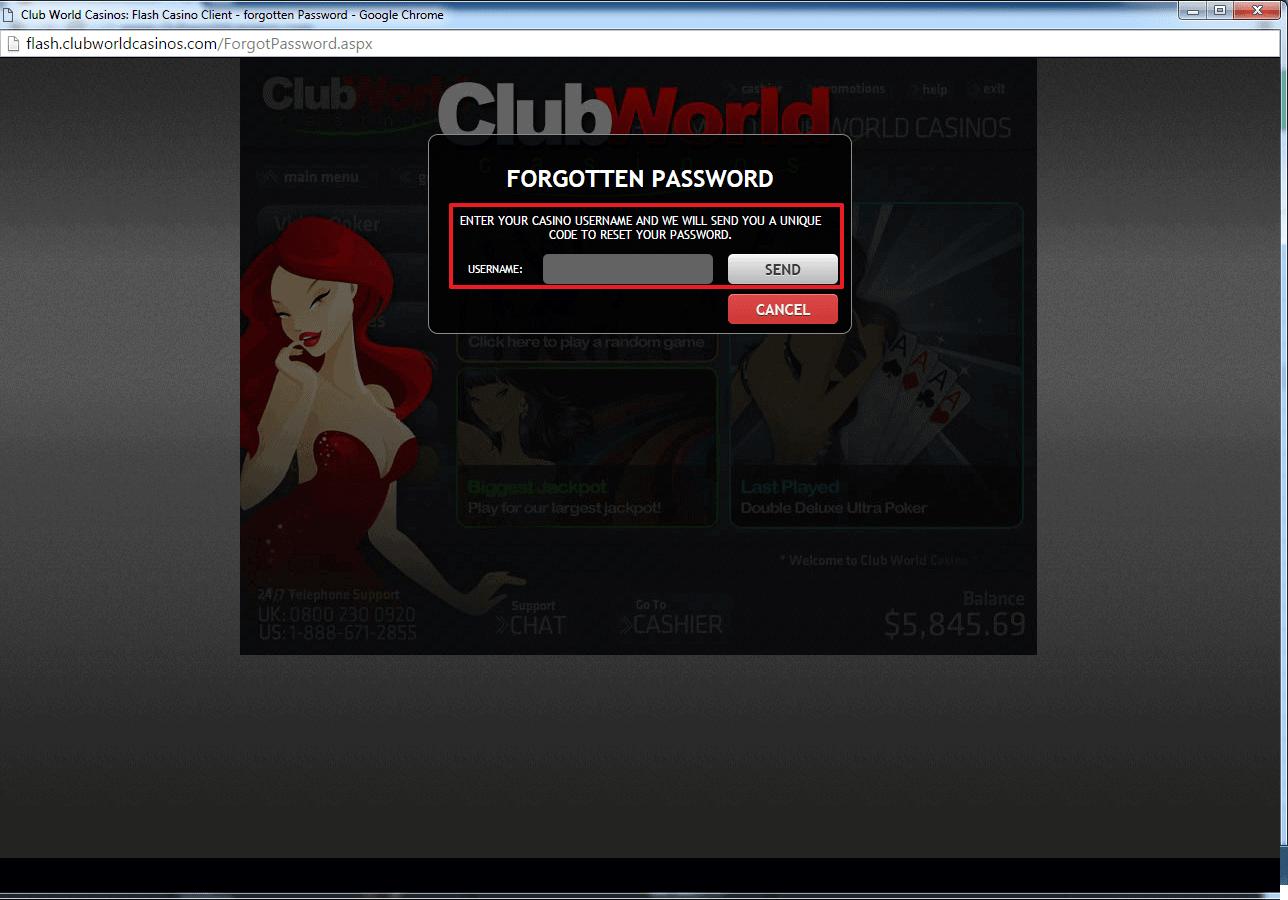Club World Casino Coupons