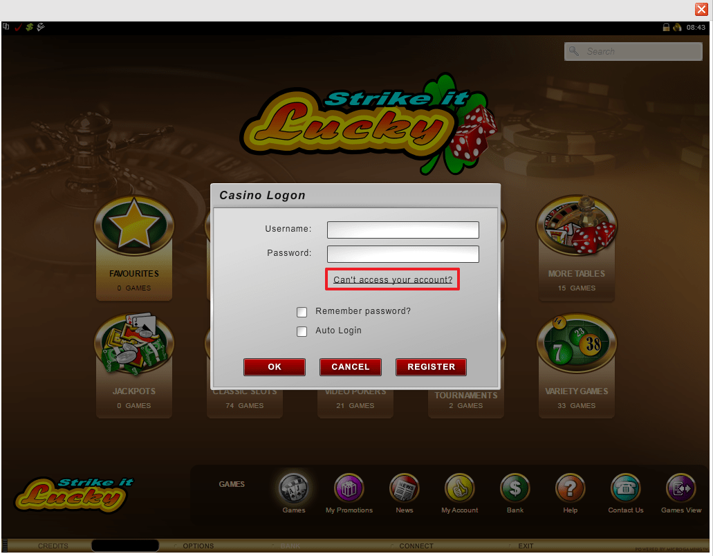 Luxury Casino Login