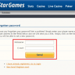 Star Games login 3