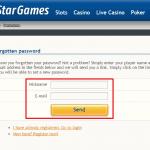 Star Games login 3
